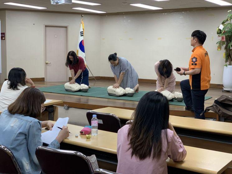 서부소방서, 다문화가족지원센터 소방안전교육
