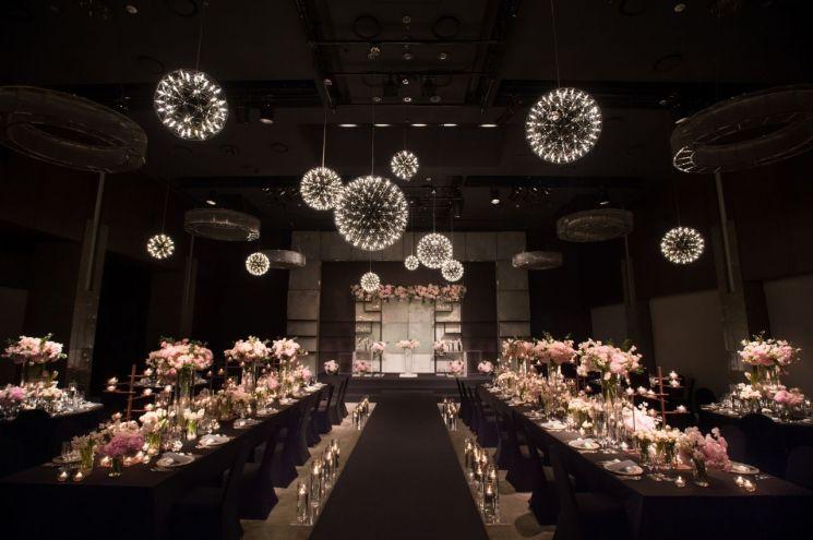 더플라자, 최상층 지스텀하우스서 맞춤형 웨딩…'로맨틱 선셋' 선봬