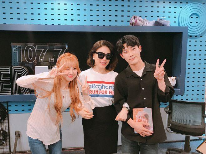 가수 앤씨아, DJ 최화정, 지동국 / 사진=지동국 인스타그램 캡처