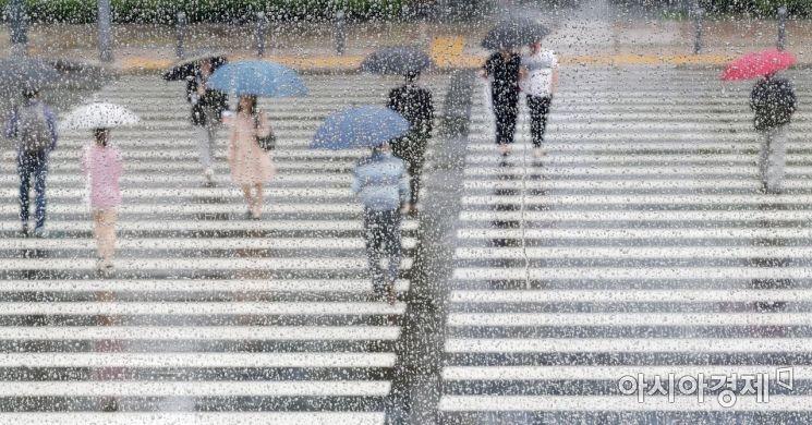 [포토]비가 내리면 보이는 풍경