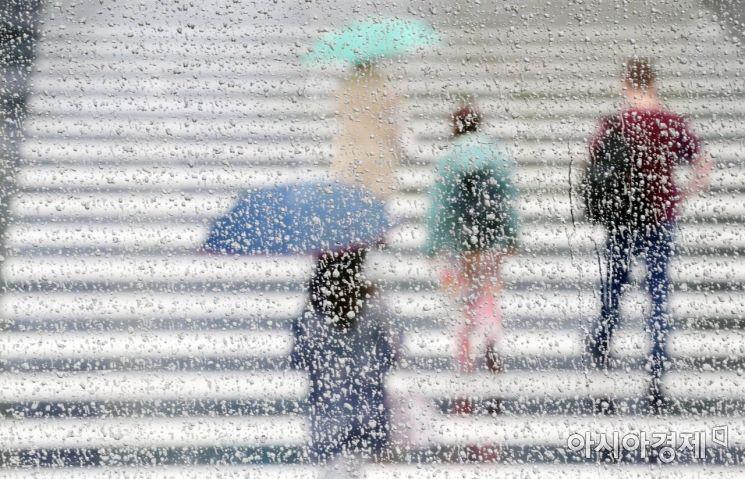 [포토]빗속 출근
