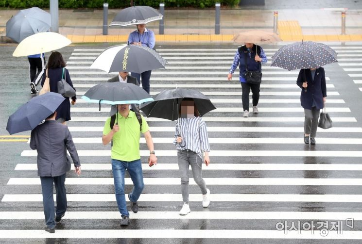 [포토]비가 주룩주룩