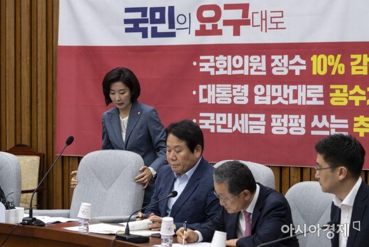 [포토] 회의 참석하는 나경원 원내대표