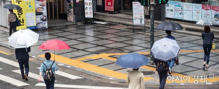 [포토]비 오는 아침