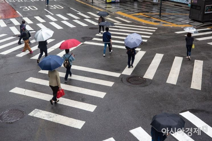 [포토]비오는 아침 출근길