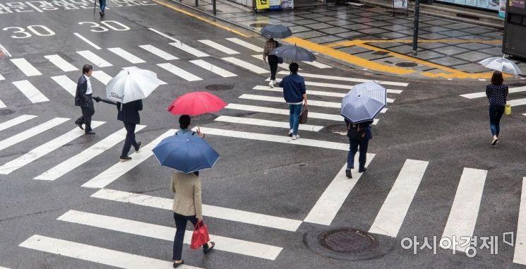 [포토]비 내리는 도심