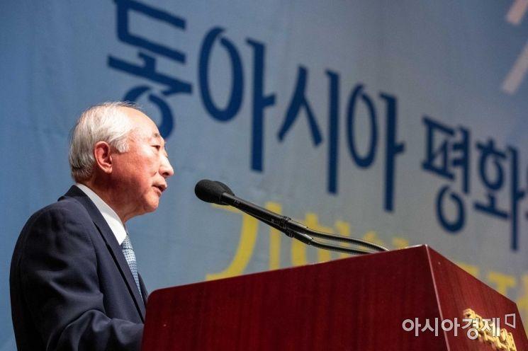 [포토]김형기 평화재단 평화연구원장 인사말