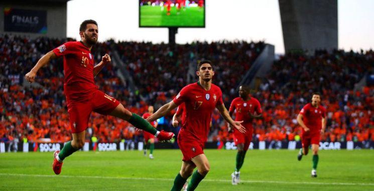 포르투갈은 10일(한국시간) 포르투갈 이스타디우 두 드라강에서 열린 네덜란드와의 UEFA 네이션스리그 결승전에서 1-0으로 승리했다./사진=UEFA 네이션스리그 SNS 캡처