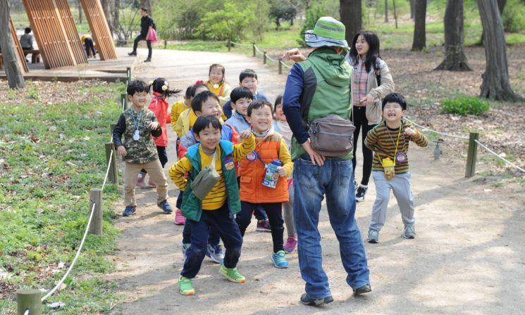 숲속 소풍 통해 편식하는 아이 습관 고쳐요
