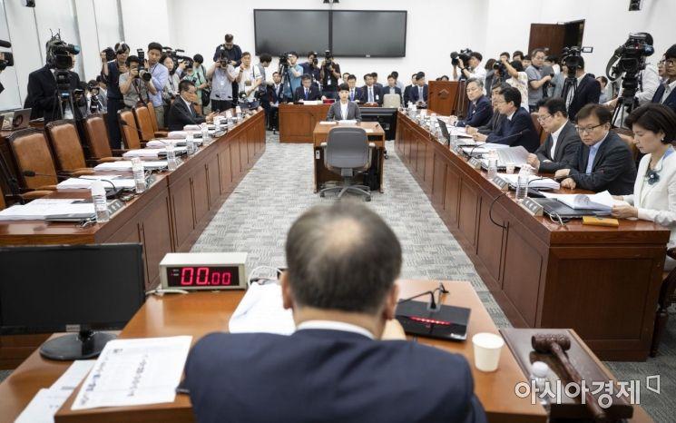 [포토] 지유한국당 빠진 사개특위