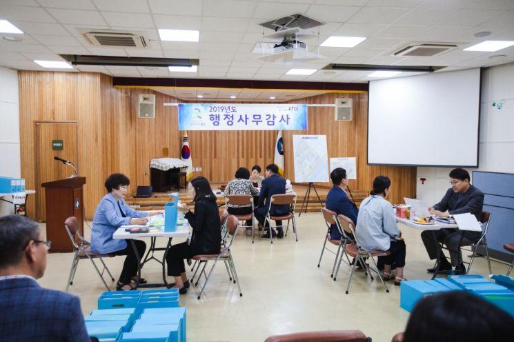 광진구의회, 동 행정사무감사