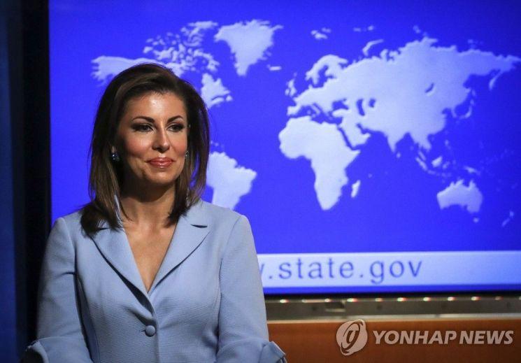 """美 국무부 """"한국 방위비 분담 증액이 트럼프 대통령 입장"""""""