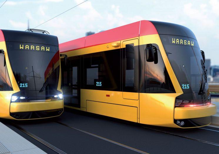 현대로템, 폴란드 바르샤바에 트램 첫 수출…3358억원 규모