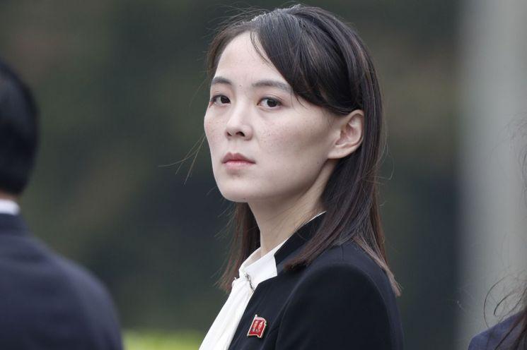 북한 김정은 국무위원장의 여동생 김여정 노동당 제1부부장