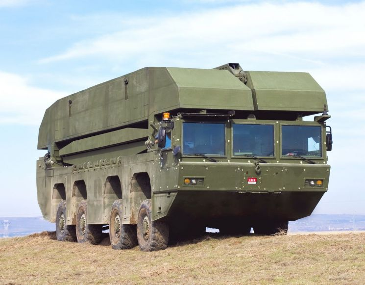 현대로템이 국산화 예정인 터키 FNSS의 자주도하장비 AAAB