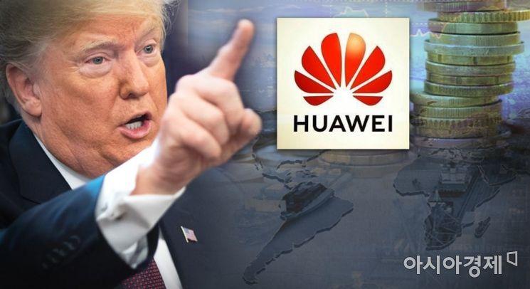 """美, 5G 장비 '중국산' 전면 배제 추진…""""다국적업체, 중국 떠나라"""""""