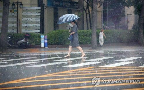 [날씨]'시간당 20㎜ 소낙성 강수주의'…오후부터 소강상태