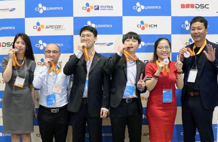 CJ대한통운, 17개국 임직원 참여 '물류 올림픽' 개최