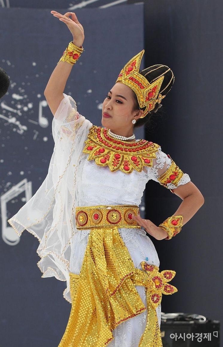 [포토] 미얀마의 전통춤