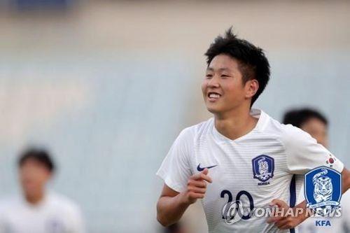 대한민국 U-19 축구 국가대표팀 선수로서 활약하는 이강인 / 사진 = 연합뉴스