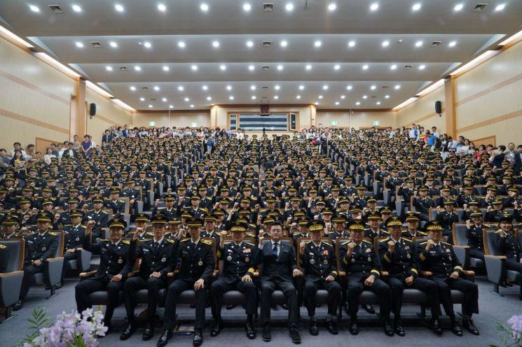 경기도 '새내기' 소방공무원 395명 임용