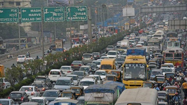 교통혼잡도 세계 1위는 인도 뭄바이