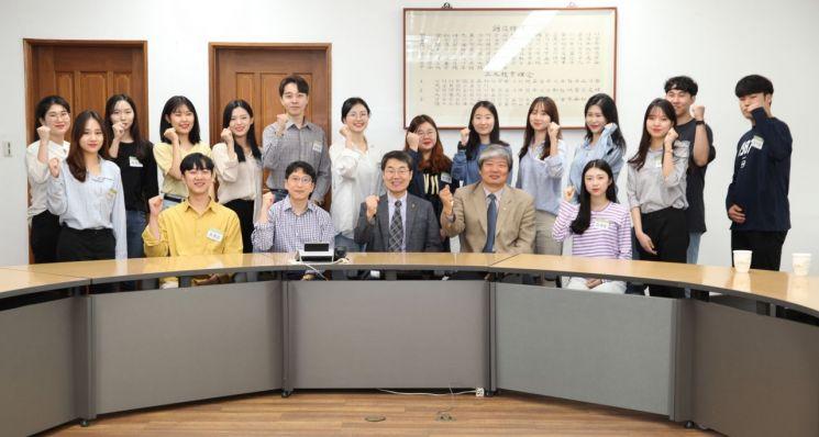 광주대 '2019 WIU하계어학연수 장학생' 격려