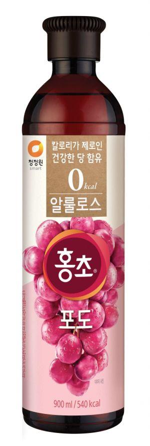 대상 청정원, 건강한 단맛 '알룰로스 홍초 포도' 출시