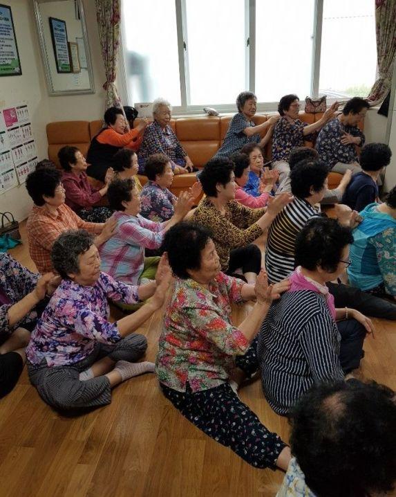 광주 서구, 경로당 인지강화교실 운영
