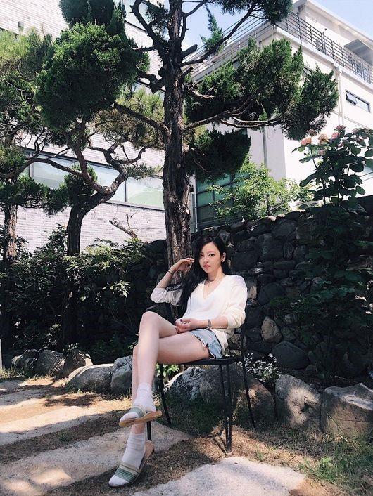 """구하라, SNS에 근황 공개 """"잘 지내고 있어요"""""""