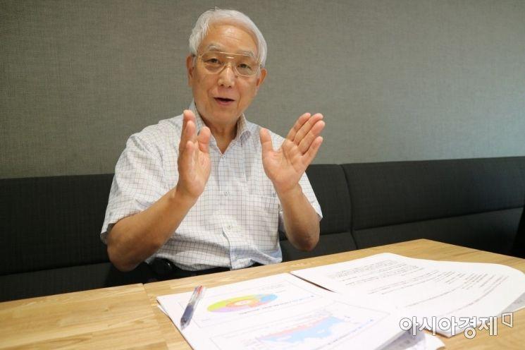 고야나기 다케시(小柳武) 전 도키와대학 종합정책학부 교수.(사진=송승윤 기자)