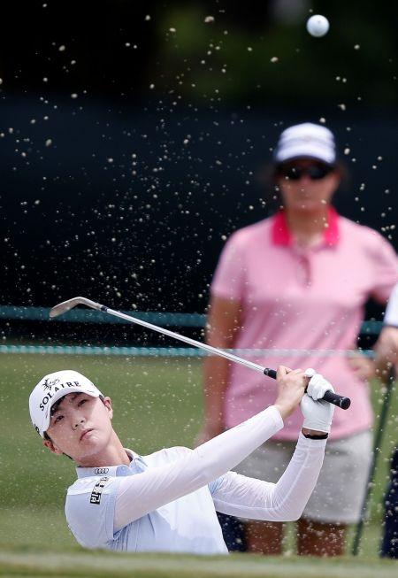 박성현이 KPMG위민스 PGA챔피언십에서 메이저 2연패에 도전한다.