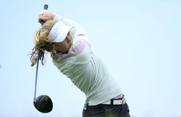 브룩 헨더슨이 KPMG위민스 PGA챔피언십에서 2연승을 노린다.