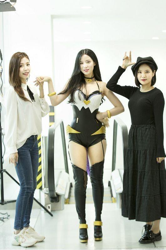 베리굿 조현(가운데)/사진=CJ ENM OGN