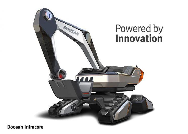 '코어'까지 혁신하는 두산인프라코어…디지털 첨단기업으로 도약