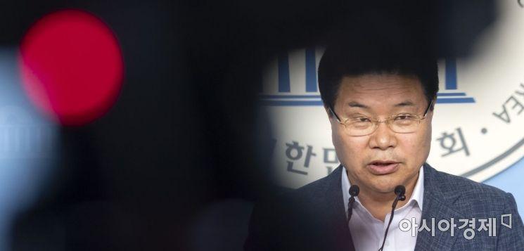 [포토] 홍문종, 탈당 기자회견