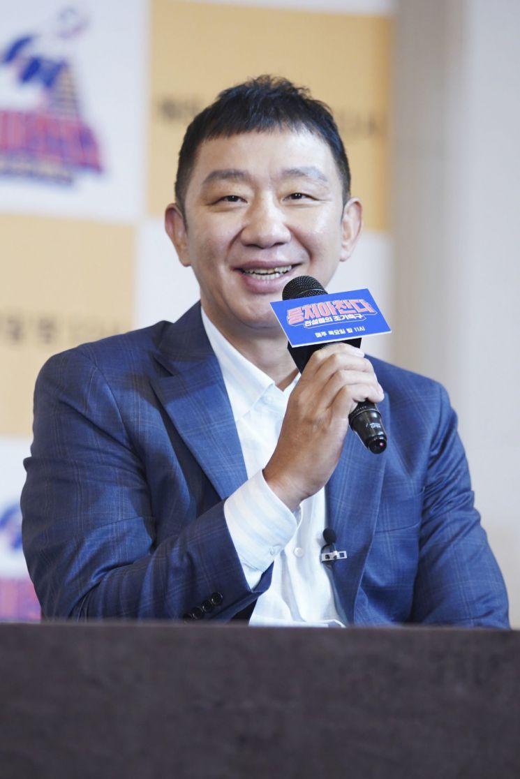 '뭉쳐야 찬다'에 출연하는 농구 레전드 허재. 사진=JTBC