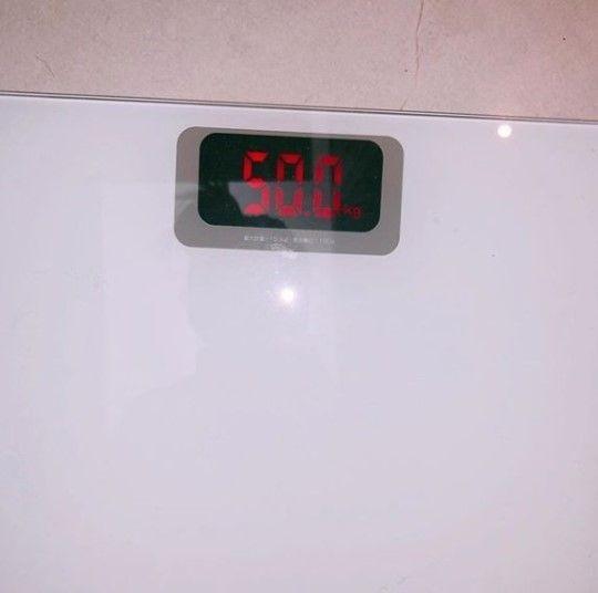 가수 선미가 자신의 몸무게를 인증했다/사진=선미 인스타그램 캡처