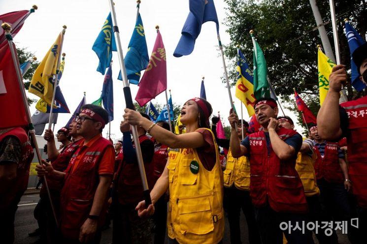 [포토]청계천 일대 개발 반대!