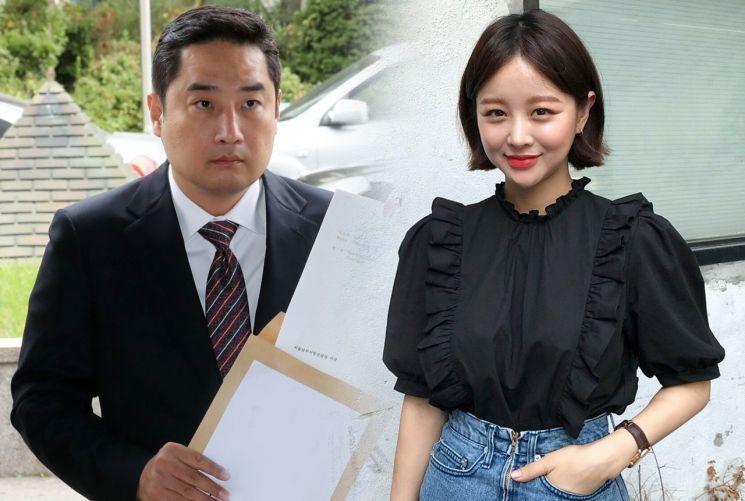 강용석 변호사(좌), 임지현 전 임블리 상무(우)/사진=연합뉴스