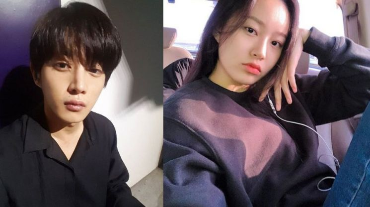 배우 김민석(좌)과 박유나(우)/사진=김민석, 박유나 SNS 캡처
