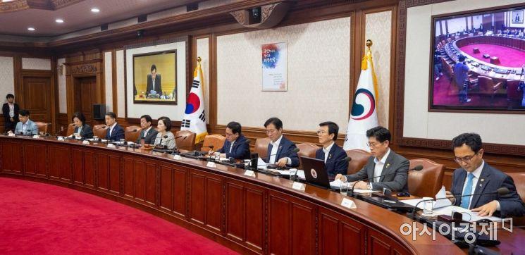 [포토]국정현안점검조정회의