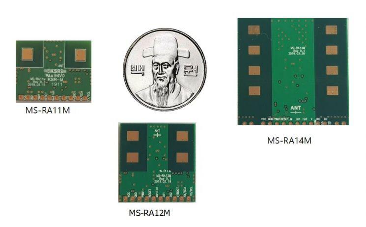 MS-RA12M (기존 유통되는 레이더 센서대비 Compact한 작은 사이즈)
