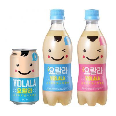 롯데칠성음료, 상큼 달콤한 '요랄라 요구르트맛 스파클링' 출시