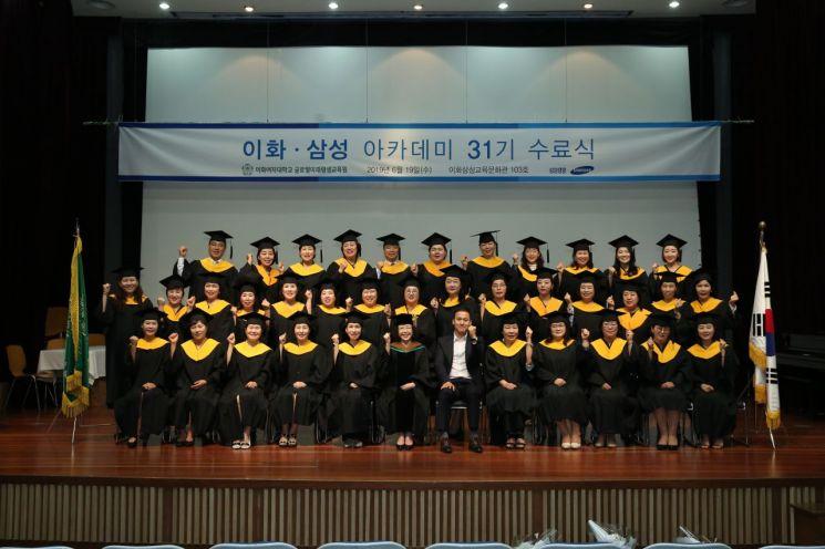 삼성생명, '이화-삼성 아카데미' 31기 수료식...인생금융전문가 지원