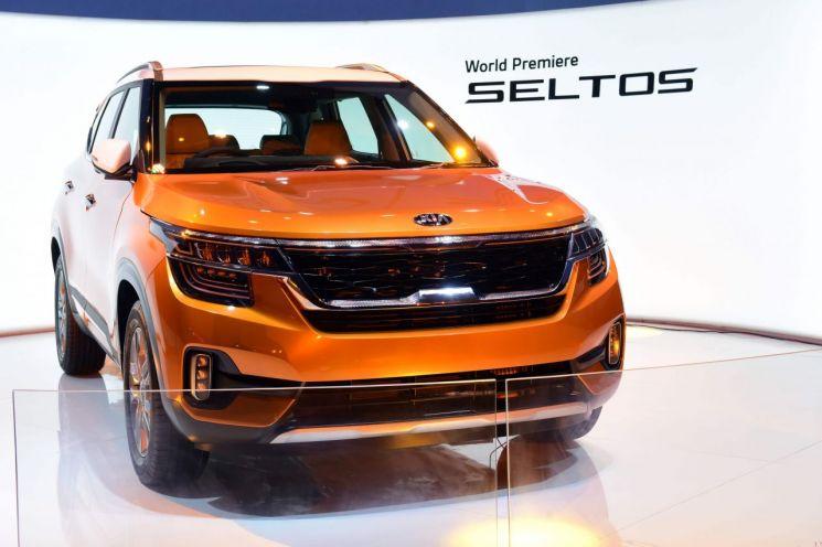기아차 소형 SUV '셀토스' 세계 최초 공개…7월 국내 출시