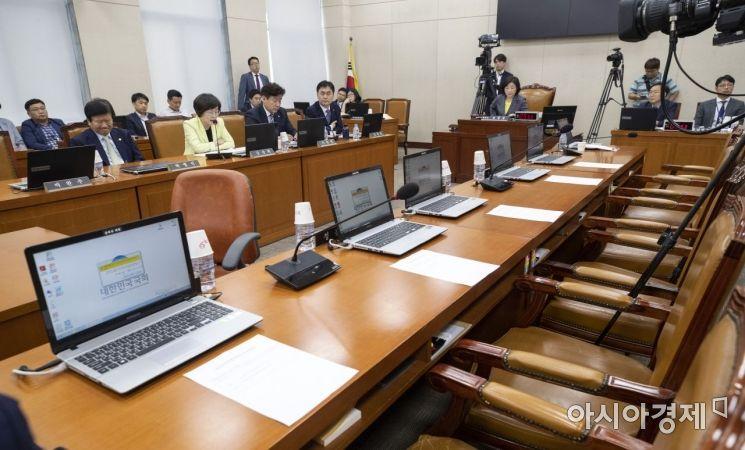 [포토] 정개특위 전체회의 개최, 한국당은 불참