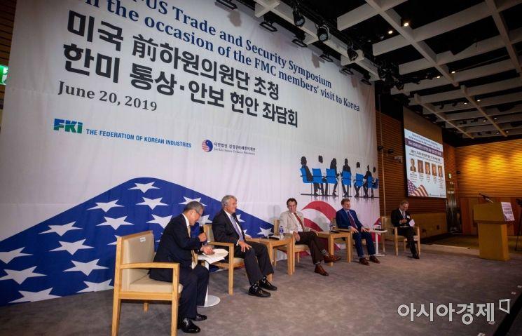 [포토]미국 전 하원의원단 초청 좌담회