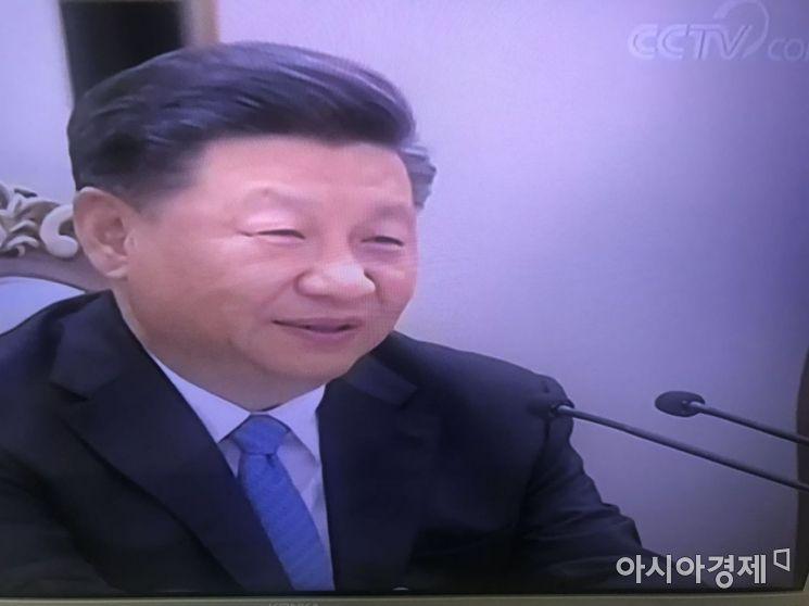 """[북·중 정상회담]시진핑 """"한반도 문제 복잡·민감…북한 돕겠다""""(종합)"""