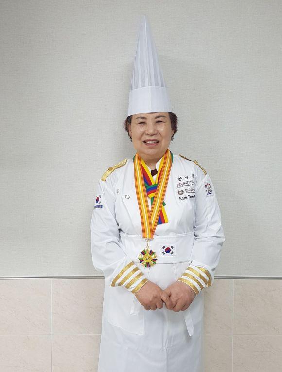화순 김영란씨 '대한민국 한식대가' 한과 분야 선정